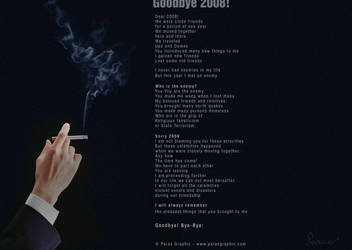 Goodbye 2008 by dr-photoshop
