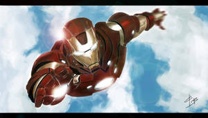 I am Ironman by z0h3