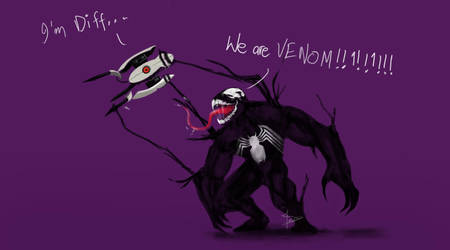 I'm different - Venom by z0h3