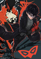 Joker P5 by BlackEstella