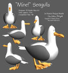 seagull model by EmpressHelenia