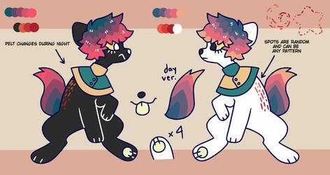 Redone ref by Ghost-Pup