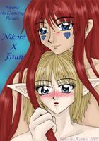 Nikore and Faun by kojika