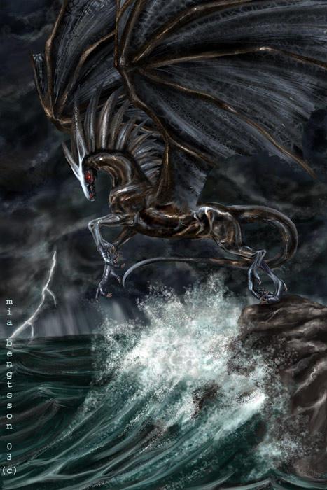 Equine Dragon by Losmios