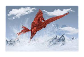 Icy Skies by Losmios