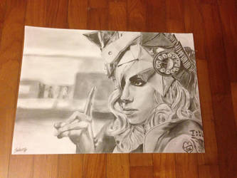 Lady Gaga by Zhiheng98