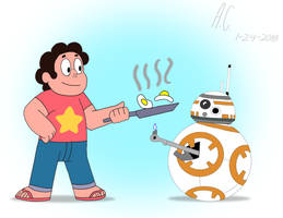 Cooking With BB-8 by Brermeerkat16