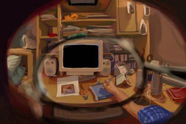 through my eye by Spheredra