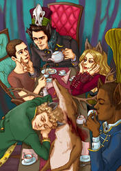 Teen Wolf in Wonderland by Spheredra