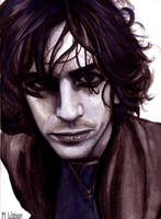 Another Syd Barrett painting by SoftMachine09