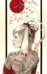 Japanese Back-Piece Hottie by wilson419