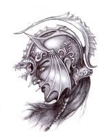 Dragon Helm by Badonel