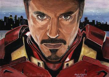Robert Downey Jr - Congrats message! :) by traciewayling