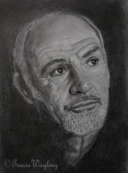 Sean Connery by traciewayling