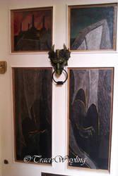 Dragon door by traciewayling