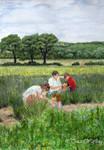 Lavender Fields pt 8 by traciewayling