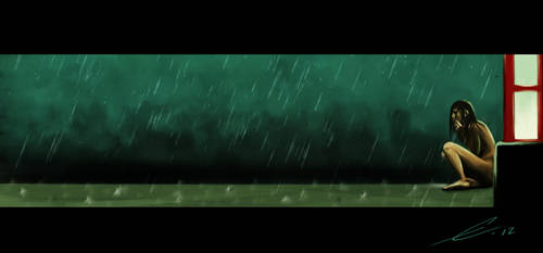 When it rains. by emmix0392
