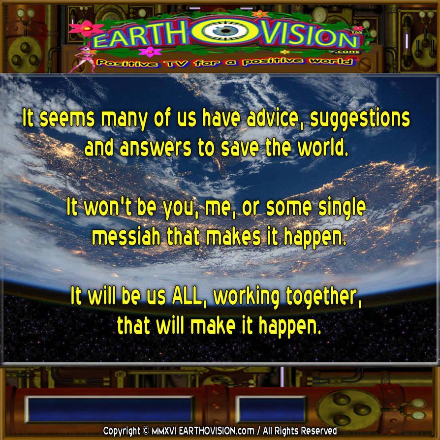 No Single Messiah by EARTHOVISION
