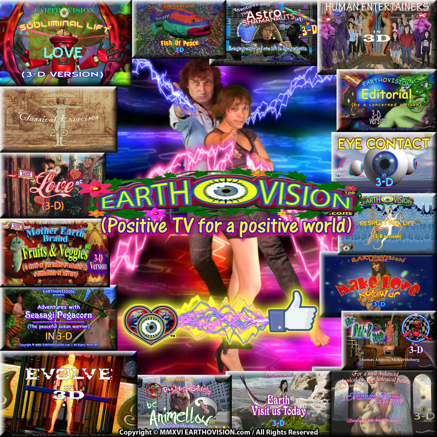 Earthovision (Positive TV for a positive world) by EARTHOVISION