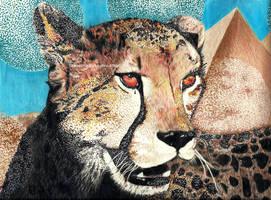 egyptian cheetah. [2014] by CheyenneDrake