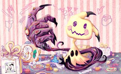 Mimikyu by Creativelea