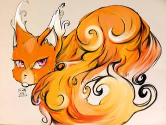 Fire Fox by Creativelea
