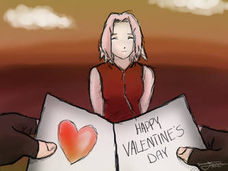 KakaSaku - Happy V-Day by serenitytouched