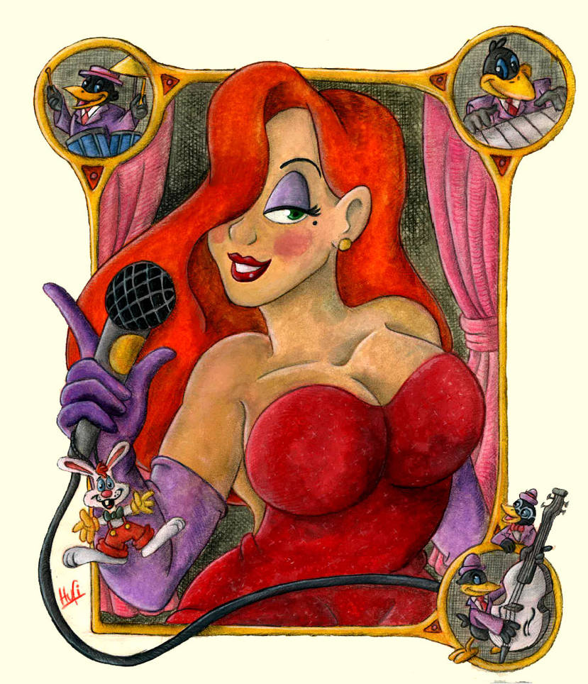 Fave Femal Characters #2 - Jessica Rabbit by pineapplepidecd92
