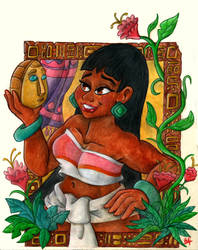Fave Femal Characters #3 - Chel by pineapplepidecd92