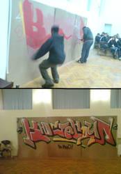 Hip Hop Urbanization by scape-swc