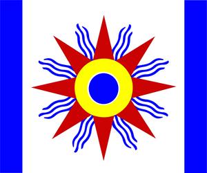 Assyrio-Chaldean Flag by Assyrianic