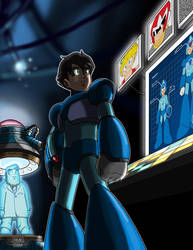 Megaman: Ghosts by Aremke