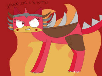 Angry Unikitty by CottonFluff234