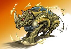 Rhino Hummer by KomicKarl