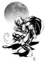 Moon Knight Commission by KomicKarl