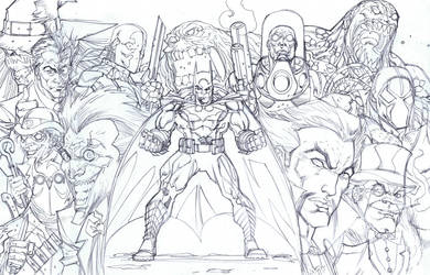 Batman Group by KomicKarl