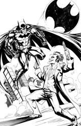 Batman vs. Joker by KomicKarl