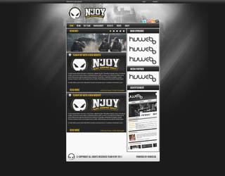 Team Njoy webdesign by w3nky