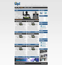 Team Up webdesign by w3nky
