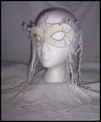 Snow Queen Mask by PurrpleCatt