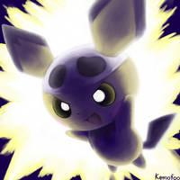 Pichu used Thunder! by kemofoo