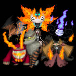Romi's fire team by diasapacibles