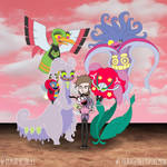 Courage Meets My Team by diasapacibles