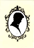 The Doctor Silhouette by merrymexicans