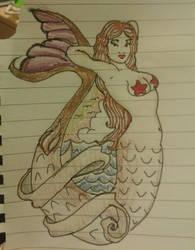 Mermaid by merrymexicans