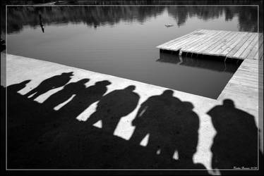 The Shadow People by GeodeLady