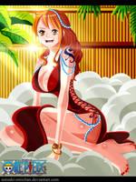 One Piece 806 Nami Return by natsuki-oniichan