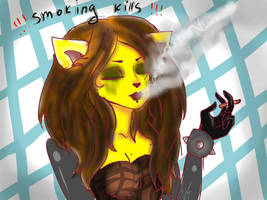 Smoking kills by Drugsparr
