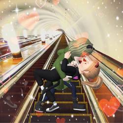 Love in metro  by Raveshitsa