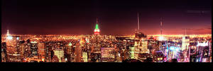 the city lights by PatrickWally